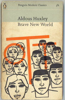 <cite>Brave New World</cite> 1965 Penguin edition