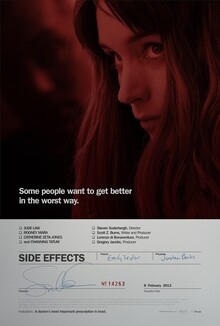 <cite>Side Effects</cite> Movie Poster