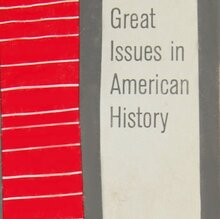 <cite>Great Issues in American History</cite>, Vintage Books Edition