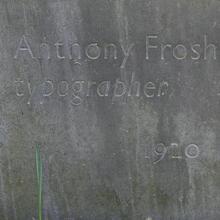 Anthony Froshaug Gravestone