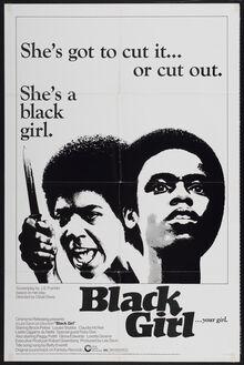 <cite>Black Girl</cite> Movie Poster