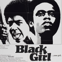 <cite>Black Girl</cite> Movie Poster