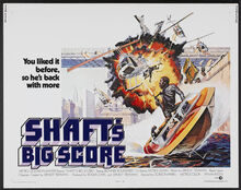 <cite>Shaft's Big Score!</cite> Movie Posters