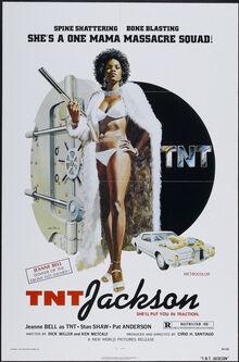 <cite>T.N.T. Jackson</cite> Movie Poster