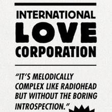 International Love Corporation contact card
