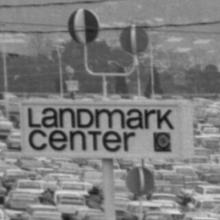 Landmark Center sign
