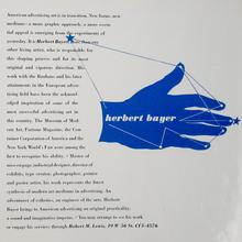 Herbert Bayer self-promo brochure