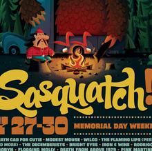 Sasquatch! Music Festival Poster