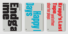 <cite>Samuel Beckett Complete Works</cite>, Faber & Faber Editions