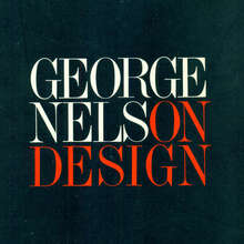 <cite>George Nelson On Design</cite>