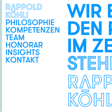 Rappold Köhli Website