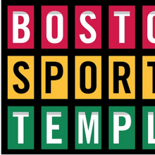 Boston Sports Temples Exhibition