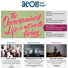 <cite>Aeon</cite> magazine