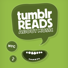 Tumblr Reads About Music Poster