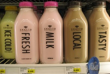 Shatto milk bottles & butter boxes