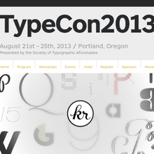 TypeCon2013 <cite>Portl&</cite>, Portland (US) 21–25 August 2013