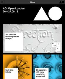 AGI Open, London (UK), 26–27 September 2013