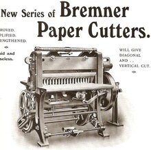 Ads from <cite>The British Printer</cite>, 1914