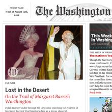 <cite>Washington Globe</cite> News