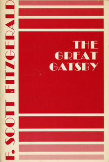 <cite>The Great Gatsby</cite> by F. Scott Fitzgerald, Scribner's edition
