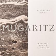 <cite>Mugaritz</cite> cookbook by Andoni Aduriz