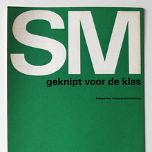 Catalog covers for Stedelijk Museum