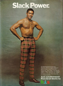 H.I.S Menswear Advertising (1960s–70s)