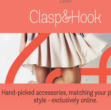 Clasp & Hook Website