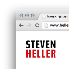 Steven Heller Website: hellerbooks.com