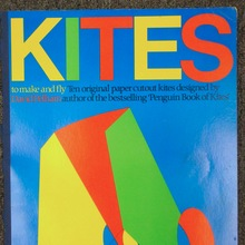<cite>Kites to make and fly</cite> by David Pelham