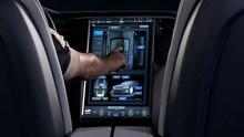 2013 Tesla Model S Dashboard Display
