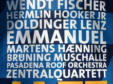 <cite>Jazz in Town</cite> Poster