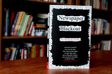 <cite>Newspaper Blackout</cite> by Austin Kleon