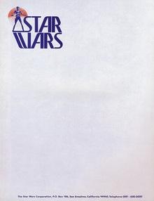 <cite>Star Wars</cite> Logo, Prerelease Version