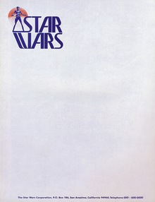 <cite>Star Wars</cite> Logo, Prerelease Version