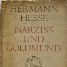 <cite>Narziß und Goldmund</cite> (Narcissus and Goldmund) by Hermann Hesse, Suhrkamp 1948 Edition