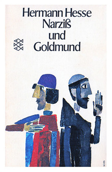<cite>Narziß und Goldmund</cite> (Narcissus and Goldmund) by Hermann Hesse, 1970 Fischer Edition