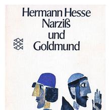 <cite>Narziß und Goldmund</cite> (Narcissus and Goldmund) by Hermann Hesse, 1970 Fischer Edition