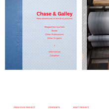 Chase & Galley Website