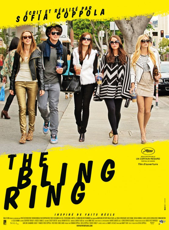the bling ring posters fonts in use The Bling Ring Official Trailer 2013 Emma Watson Movie [HD] 555x755
