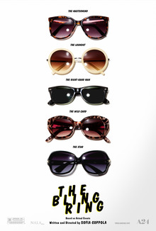 <cite>The Bling Ring</cite> posters
