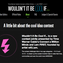 """Wouldn't It Be Cool If"" Website"