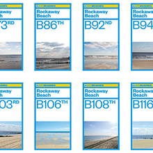 NYC Beaches identity
