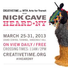 Nick Cave – HEARD•NY