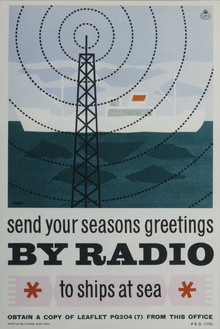 Season greetings poster, Royal Mail