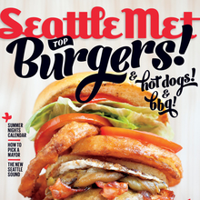 <cite>Seattle Met</cite> July 2013 Cover, Top Burgers