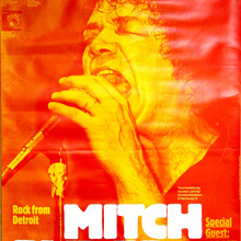 <cite>Mitch Ryder & Band</cite> Concert Poster