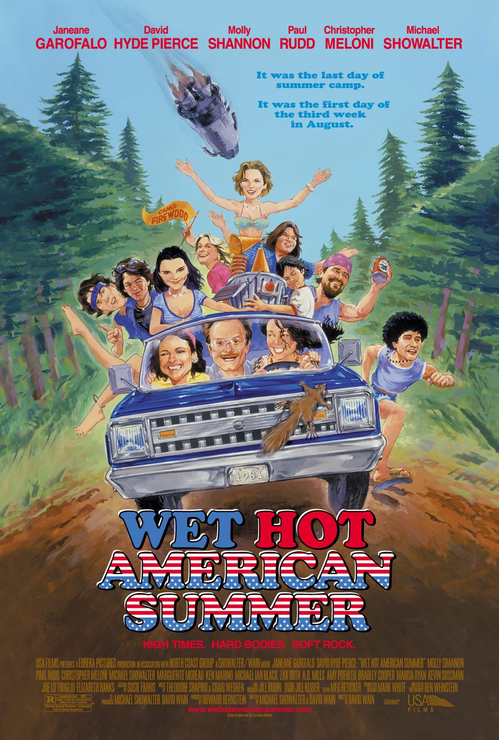 Film Actually: MOVIE OF THE WEEK: Wet Hot American Summer