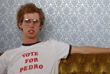 """Vote for Pedro"" Shirt from <cite>Napoleon Dynamite</cite>"