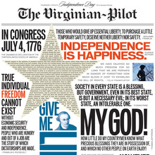 <cite>The Virginian-Pilot</cite>: Independence Day Special Issue